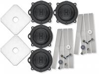 Reparatur Kit für SECOH Luftpumpe EL 120 W TWIN