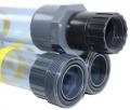 Schlammspiegel Messrohr mit Köcher 3-teilig, Länge 3 m, Ø 50 mm